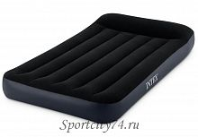 Надувной матрас Intex Twin Pillow Rest Classic Airbed With Fiber-Tech Bip